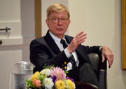 Conservative pundit George Will speaks at Amherst College