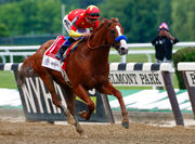 Belmont Stakes 2018: Justify wins Triple Crown, leading race from start to finish