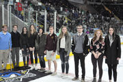 MassLive's Winter Athletes of the Week honored at party, Springfield Thunderbirds game (photos/video)