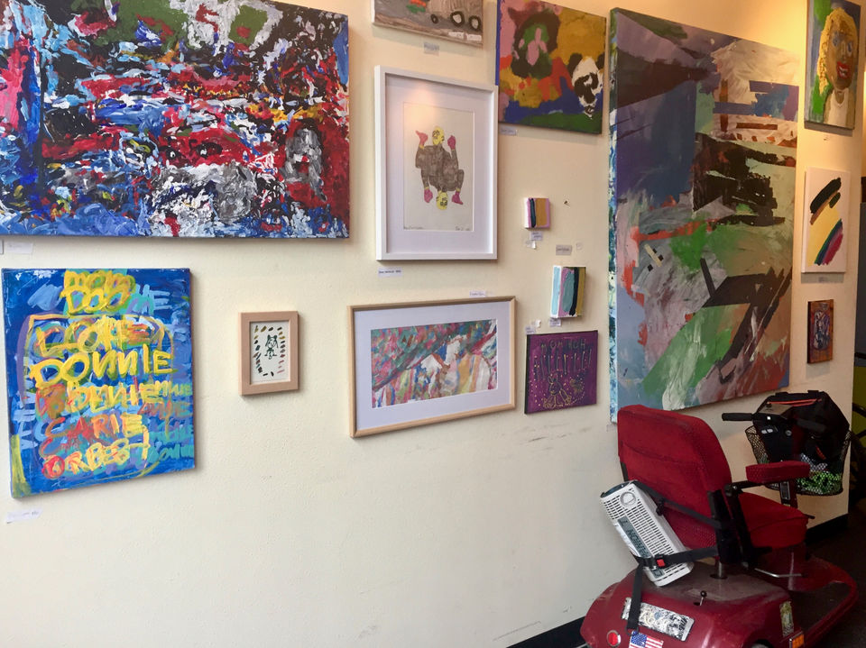 portland art and learning studios opens gallery for artists who live