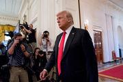 President Donald Trump praises Paul Manafort, rips former lawyer Michael Cohen
