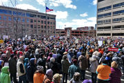 Over 1,000 students, teachers, parents protest at March for Our Lives in Syracuse