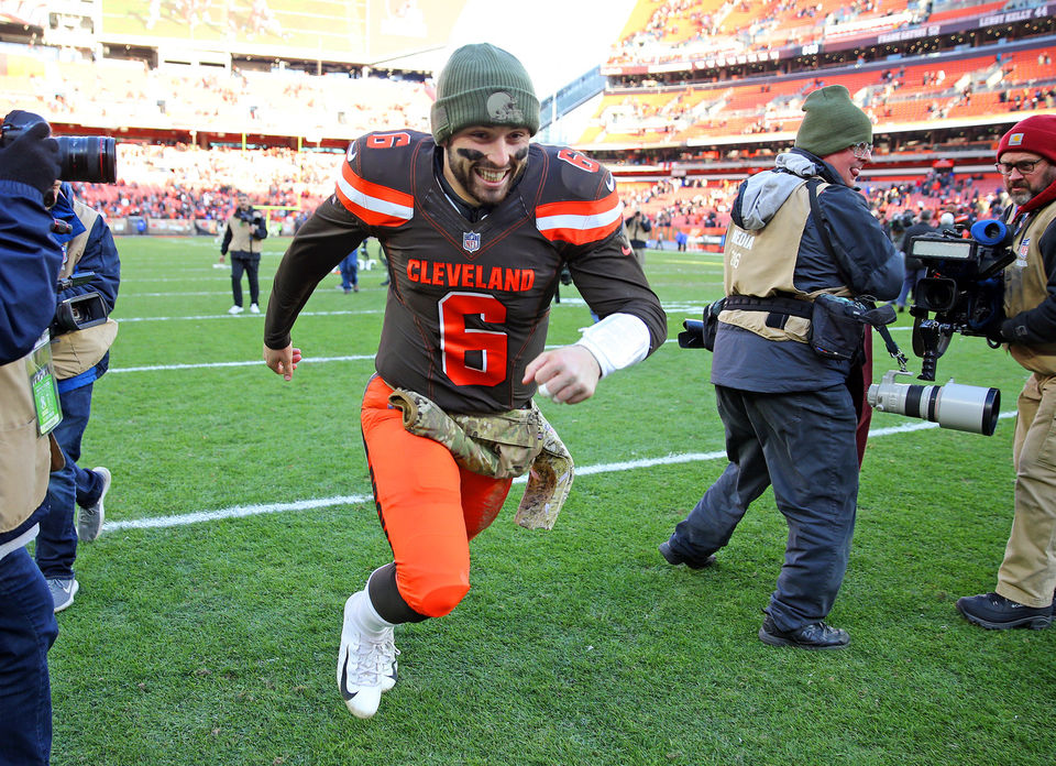 9b7e219c124 Baker Mayfield sets another rookie milestone  Ranking top 2018 NFL  Offensive Rookie of the Year candidates after Week 10