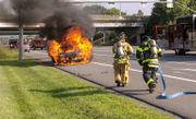 3 vehicle fires in 4 hours in 1 community (PHOTOS)