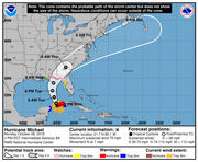 Hurricane Michael continues moving toward the Gulf: What to know Monday afternoon