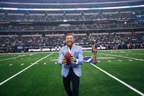 UFC superstar Conor McGregor attended the Dallas Cowboys game on Sunday and even gave the team a pre-game pep talk before it faced off against the Jacksonville Jaguars. The speech might have helped because the Cowboys dominated the trendy preseason Super Bowl favorite Jaguars, 40-7.  Before the game McGregor picked up a football and showed off his spiral. It wasn't pretty.  But McGregor is known for the bombs he throws inside the Octagon, not on the gridiron. That didn't stop the Internet from wondering which player would be better at quarterback: McGregor or Buffalo Bills quarterback Nathan Peterman. Obviously it's a joke but Peterman struggled again on Sunday against the Texans when he was brought into the game after starter Josh Allen left with an injury to his elbow. Peterman threw two more interceptions to add to his career total that's now sitting at nine in just six games. Here are the best tweets about McGregor and Peterman. READ: McDermott standing behind Peterman after another disastrous outing
