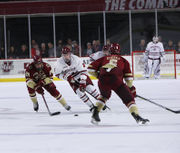 Jake McLaughlin's goal with 2.3 seconds left in regulation sends No. 3 UMass to 4-3 win over Boston College (photos)