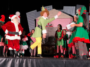 """STATEN ISLAND, N.Y. -- Spotlight Theatre Company's production of """"Elf The Musical Jr."""" was nothing short of fantastic during its run over the weekend in St. Joseph Hill Academy. The Arrochar school's inaugural stage presentation saw the newly formed theater group sing and act their hearts out during the must-see performance. The musical featured the tunes of Tony Award nominees Matthew Sklar and Chad Beguelin, with a book by Tony Award winners Thomas Meehan and Bob Martin."""
