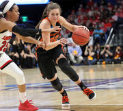 Oregon State women's NCAA Tournament run ends with Elite 8 loss to Louisville: Live updates recap