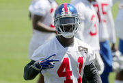 New Giants safety Michael Thomas master of 1st impression (just ask Tom Brady)
