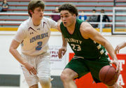 Trinity withstands Loyalsock's Gerald Ross, draws semifinal date with Neumann-Goretti