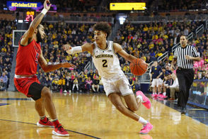 The state of Michigan has two top-10 teams once again. Michigan State rose a spot, while Michigan dropped one, in Monday's AP top-25 poll The in-state rivals, who will face off on Sunday, are among six Big Ten teams in the latest rankings.