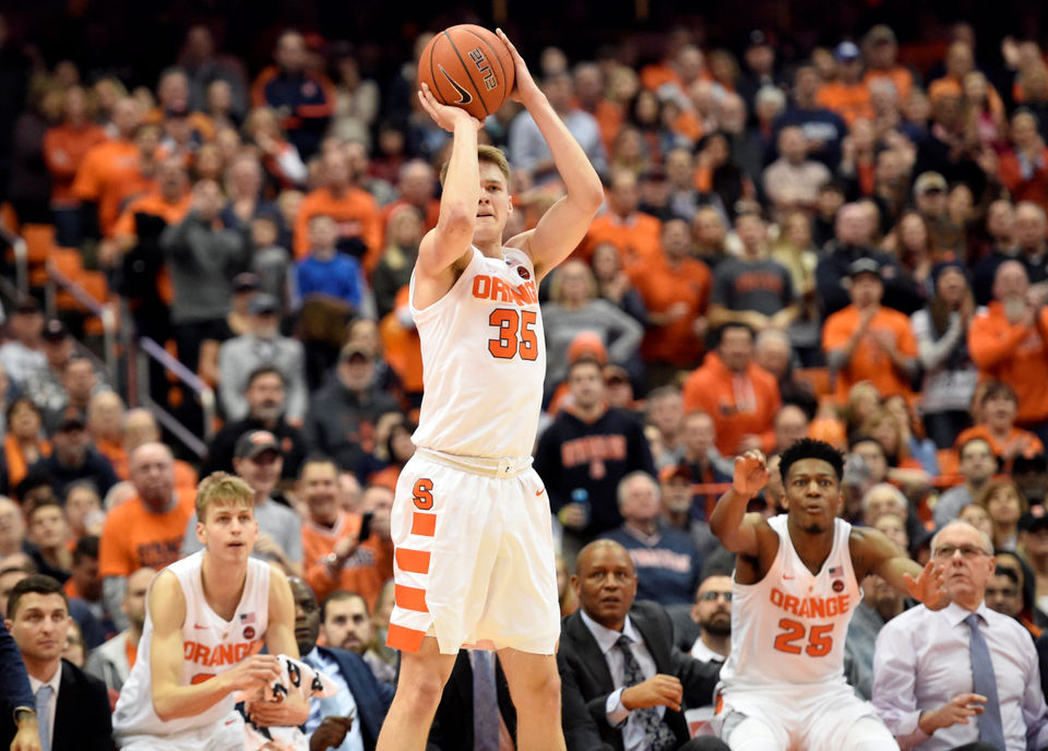Syracuse Basketball Halfway Through Acc Schedule What We Know What