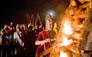 The Festival of the Bonfires is Dec. 14-16, (Friday-Sunday) with a single bonfire lighting each night in Lutcher Recreational Park, Lutcher Avenue on La. 3193, Lutcher in St. James Parish. Enjoy food, live music, Santa's Very Merry Forest and carnival rides. Click here for the weekend schedule.