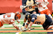 Navy beats Syracuse lacrosse on last-second goal in Battle of the Varello Brothers
