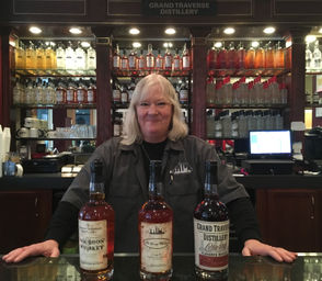 Grand Traverse Distillery opened a tasting room at 224 East Michigan Avenue in Kalamazoo in July. The tasting room allows customers to sample spirits from the northern Michigan based company and purchase them for retail prices, along with mixers, Spirits Ambassador Angie Jackson said.