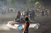 Illegal street-racer hits, seriously injures spectator, drives away in NE Portland