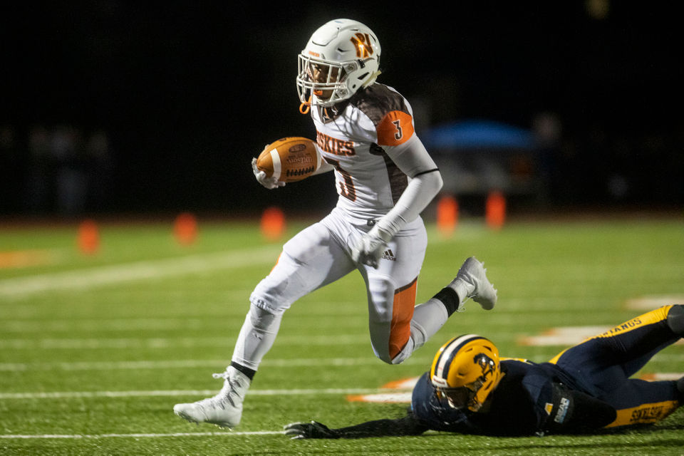 which kalamazoo area prep football player had the best playoff