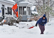 November in CNY was the coldest in 85 years. It was wet and snowy, too