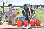 Earth Day is celebrated at Liberty State Park festival