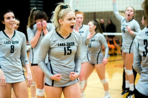 Lake Orion sweeps Flushing in 2018 Division 1 volleyball quarterfinal