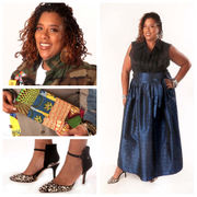 Dru Christine Fabrics & Design creator inspired by art, music: Fashion Flash