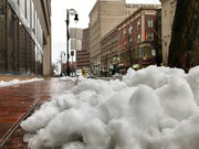 Snow, sleet and slop: A look at what Massachusetts woke up to on Patriots' Day