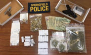 Springfield man charged with heroin trafficking held on $25,000 bail