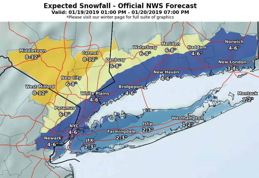 N J  weather: How much snow, when it will arrive and other