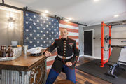 N.J. home makeover: An all-American man cave for a retired Marine