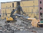 WATCH: Days Inn hotel reduced to rubble in Easton