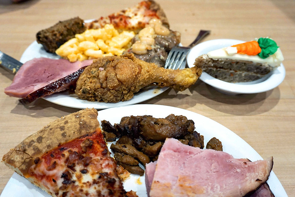 We ate 50 different foods at Golden Corral, and these are the best (and worst)