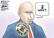 Editorial cartoons for Feb. 18, 2018: School shooting aftermath, NRA, Russia meddling