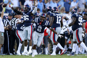 When: Oct. 20 at 11 a.m. CT on ESPN Where: Vaught-Hemingway Stadium, Oxford, Miss. Betting line: Auburn by 2 1/2