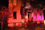 6 displaced by apartment fire in Easton, 1 firefighter hurt