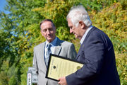 Henry Kozloski, longtime Agawam volunteer, honored with garden and mayoral proclamation