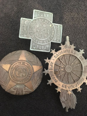 Pennsylvania State Police are looking for the owners of 1,000 lbs worth of military grave markers stolen from Ebensburg.