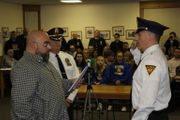 Wilson Borough's new police chief is sworn in