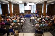 Democratic 34th District Senate candidates debate the issues