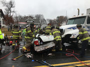 Woman seriously injured in Page Boulevard crash dies at Baystate, Springfield police say