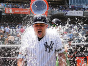 Nick Swisher homers in debut at Yankees' 72nd Old-Timers' Day (PHOTOS)