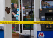 Gas-station worker killed during apparent robbery
