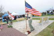 A new vets' memorial in Greenwich and the Scout that made it happen (PHOTOS)