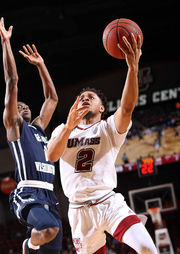 UMass men's basketball notebook: Randall West brings needed energy off bench & more