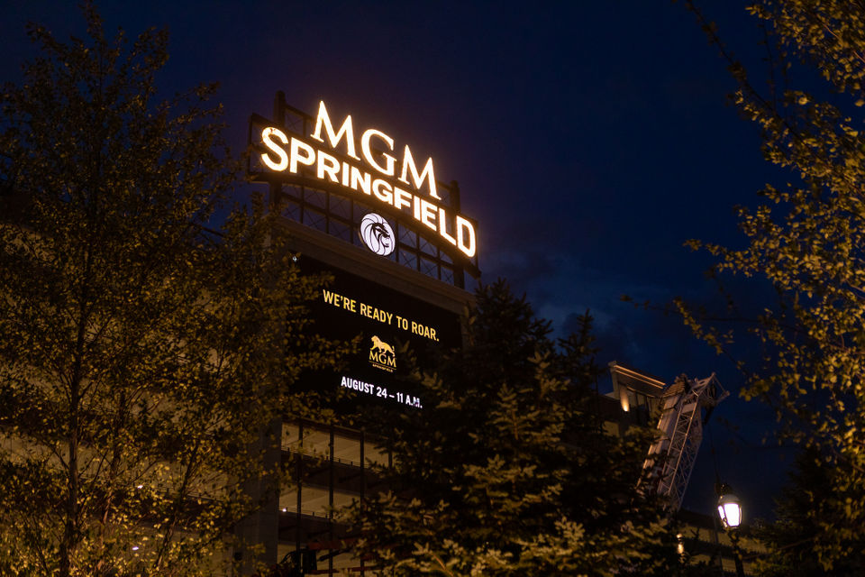 State Gaming Commission will allow MGM Springfield to change images every 8 seconds on its sign facing Interstate 91.