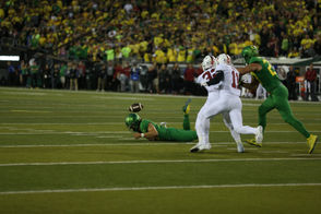 The No. 20 Oregon Ducks take on the No. 7 Stanford Cardinal at Autzen Stadium.