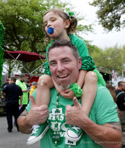 See photos from the wet Metairie Road St. Patrick's parade