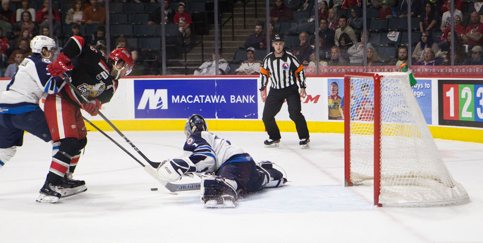 AHL: Early Deficit Too Much For Griffins In Chippy Game 3 Loss To Manitoba