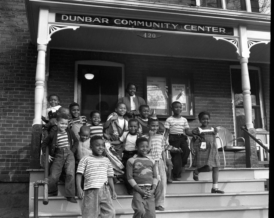 Dunbar Community Center In October