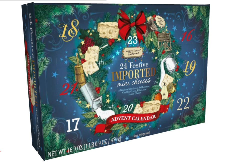 Aldi is bringing cheese and wine advent calendars to the U.S.